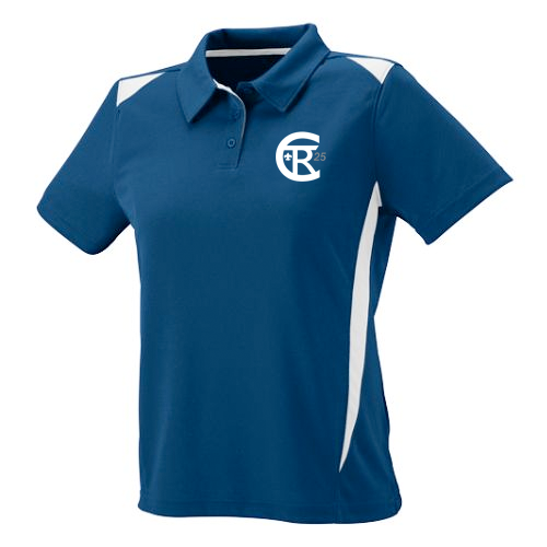 Twin Rivers Council Moisture Wicking Polo with logo embroidered: Ladies' Cut