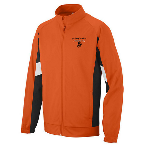 Schuylerville Colorblock Performance Full-Zip Jacket- Youth, Ladies, & Men's, 2 Colors
