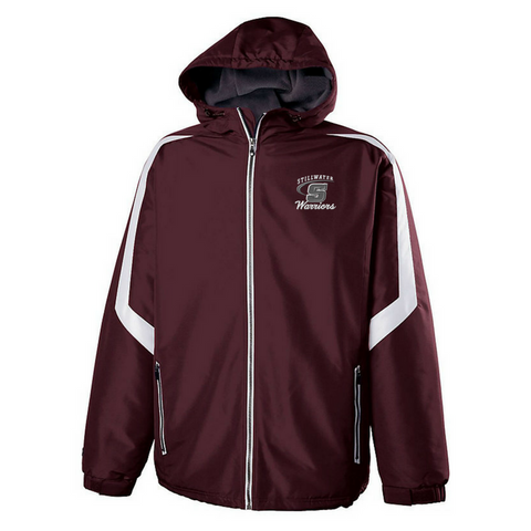 Stillwater Warriors Hooded Full Zip Jacket- Youth & Adult, 2 Colors