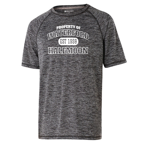 Waterford-Halfmoon Fordians Short Sleeve Heather Performance Shirt- Youth, Ladies, & Men's, 2 Colors
