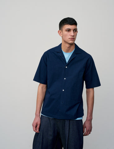 Cockle Shirt In Dark Navy
