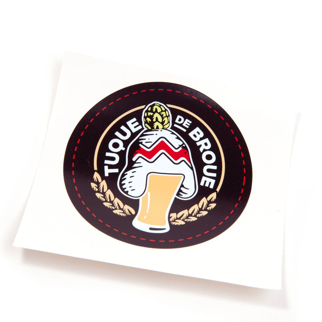 Collant | Sticker - Brasserie Tuque de Broue Brewery Inc.