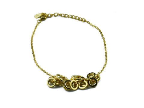 """Klarissa"", Brilliant Bracelet in Yellow Gold"