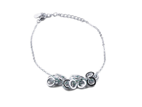 """Klarissa"", Brilliant Bracelet in White Gold"