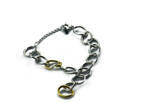 """Chiara"" The Bright One, Bracelet in White Gold"