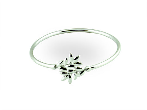 """Eukleia"", The Glory Bangle White Gold"