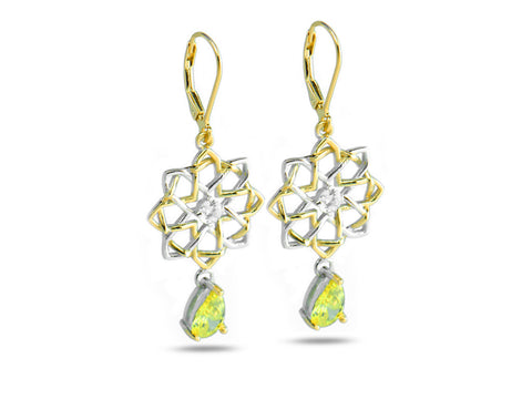 """Niamh"" The Bright One, Earrings"