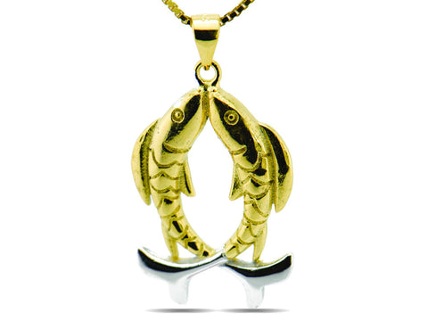 """Pisces"" The Compassionate One, Necklace I"