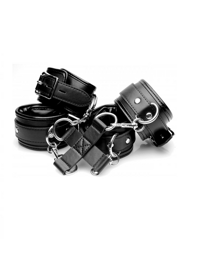 StrictLeather Hog Tie and Cuffs