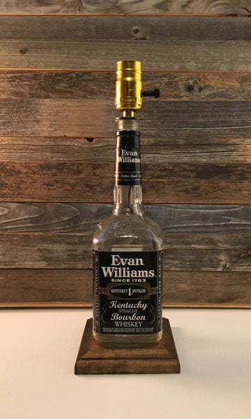Evan Williams Bourbon Lamp - BottleCraft By Tom