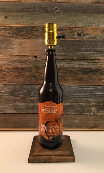 BBC Oktoberfest Beer Lamp - BottleCraft By Tom