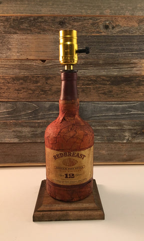 Redbreast Scotch Whiskey Lamp