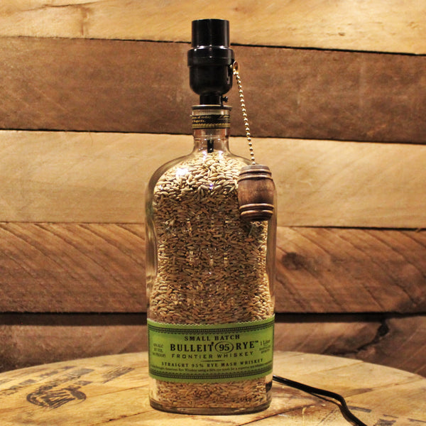 Bulleit Rye Whiskey Lamp