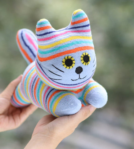 Cai the sock animal cat