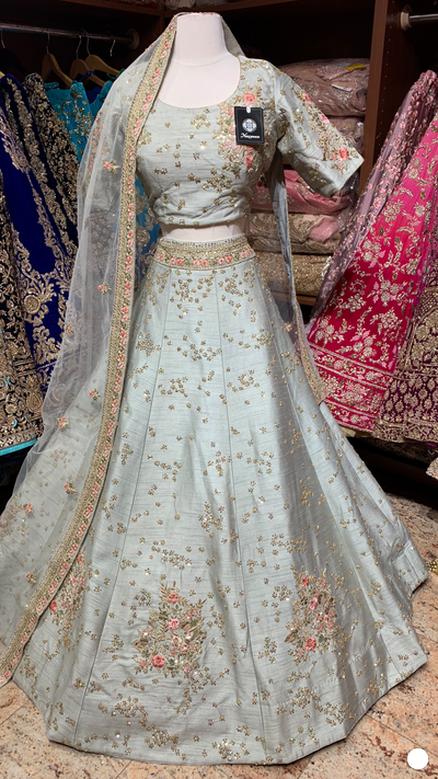 Light Grey Lehenga