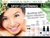 Skin Care Kit For Acne Scar Spot Lightening - Natural Skin Care Kit For Acne Scar Spot Lightening And Acne Care Complete Set Of 6
