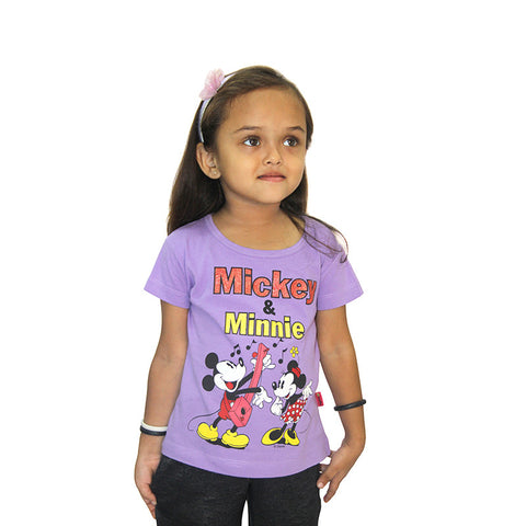 Disney Mickey & Minnie Girls  Top