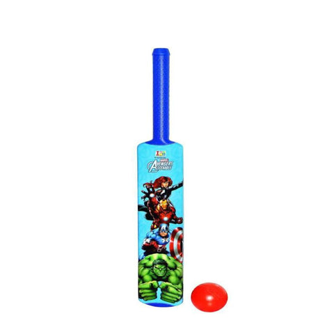 Avengers Bat And Ball - Plastic - Senior