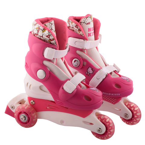 Hello Kitty 4 Wheels Skate - Pink & White