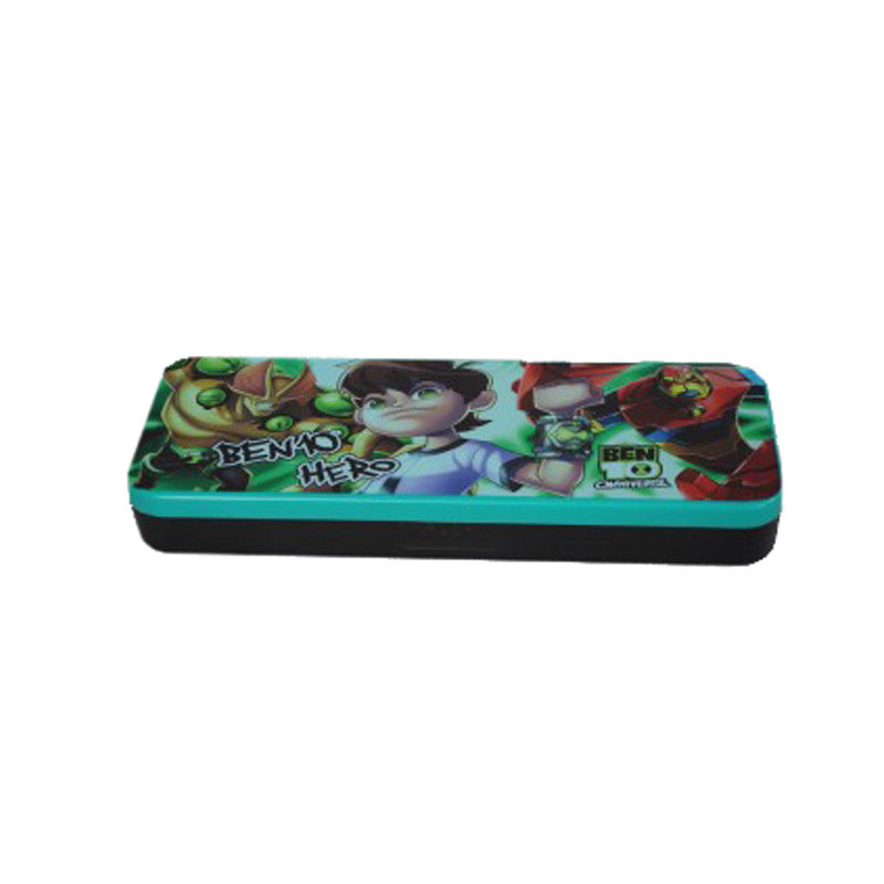 Cartoon Network Ben 10 Cartoon Art Plastic Pencil Box