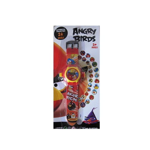 Angry Birds Projector Digital Watch For Kids