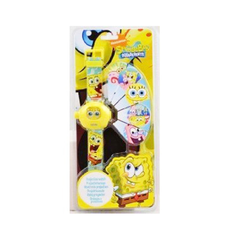 Spongebob Sqaurepants Projector Digital Watch Kids