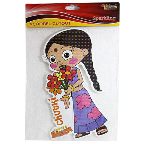A4 Noble Cutout Of Chhota Bheem
