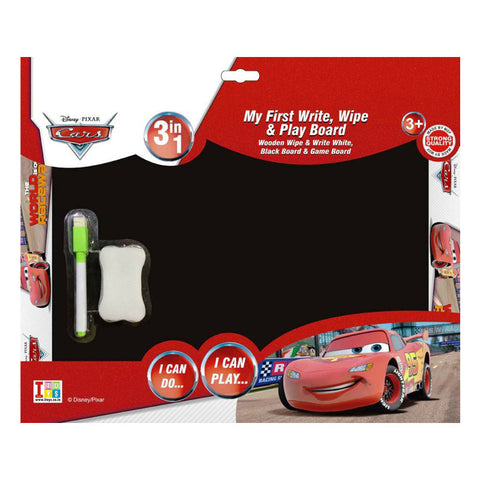 Cars Slate, Writing Board And Game (3-in-1)