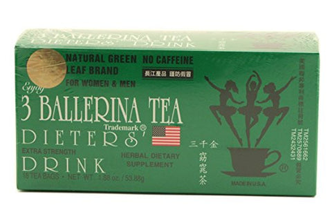 3 BALLERINA HERBAL TEA / 3발레리나 허브티 1.88oz/18tb
