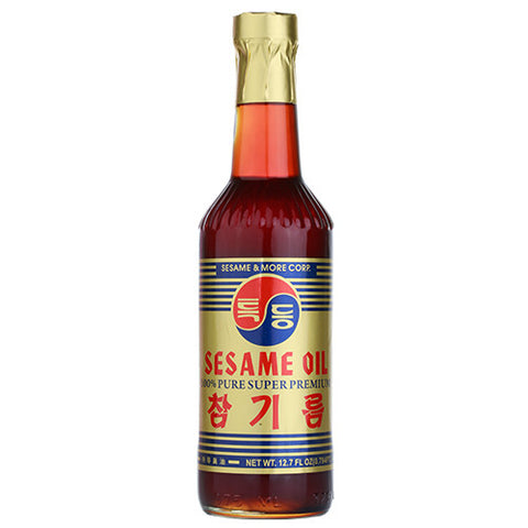 100% Pure Sesame Oil/특등 참기름 12.7oz