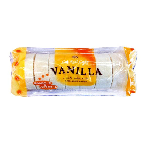 Japanese Cut Roll Soft Cake_Vanilla 8.4oz