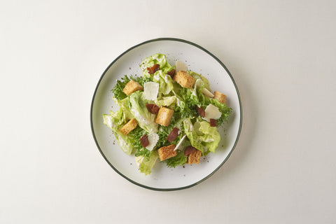 Ceasar Salad With Homemade Ceasar Dressing