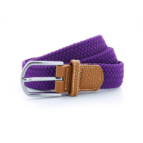 Born Braid Stretch Belts - Purple - Born Store