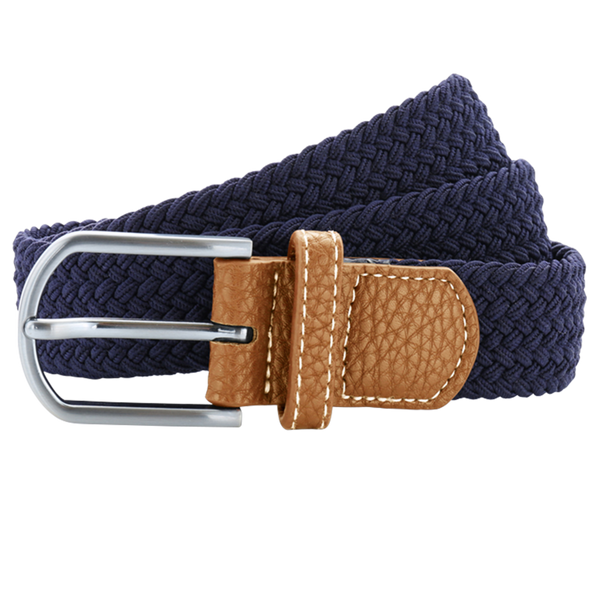 Born Braid Stretch Belts - Navy - Born Store
