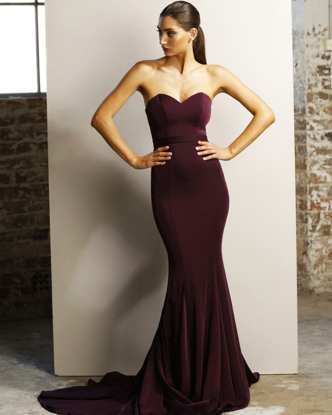 Ellie Formal Gown - Plum