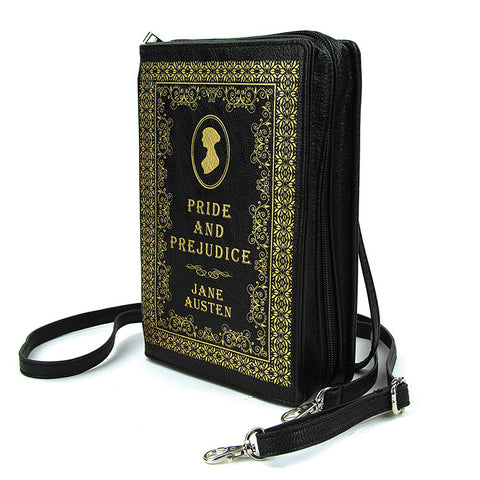 Pride and Prejudice Book Crossbody Handbag