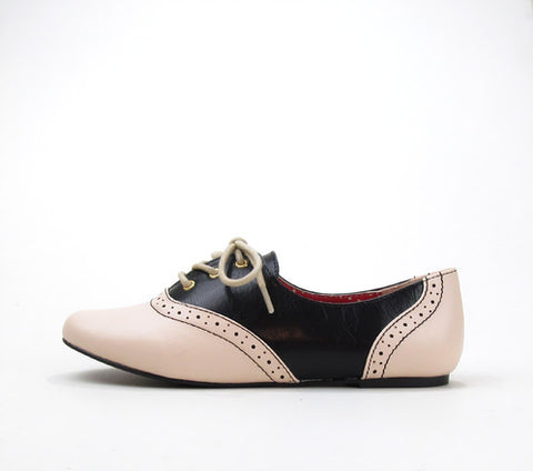 Emmie Black & Ivory Saddle Shoes by B.A.I.T.