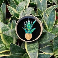 Potted Perfection Brooch by Erstwilder