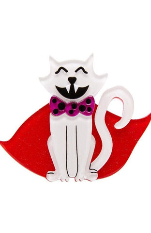 Count Von Kitty Brooch by Erstwilder