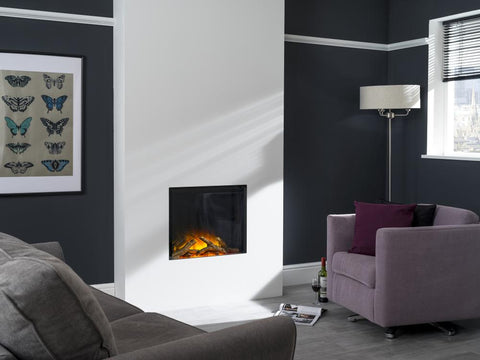 Flamerite Gotham 600 electric inset fire logs blazes fire surrounds