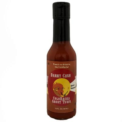 Danny Cash COLORACHA GHOST TOWN Hot Sauce