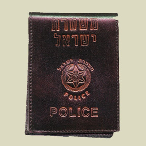 Israel Military Products Israel Police Leather Army Leather Wallet