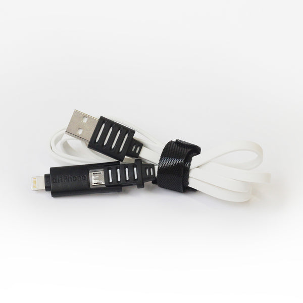 2n1 Power Cable - 1m - White