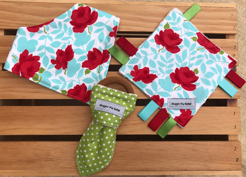 Flowers & Polka Dots Baby Gift Set