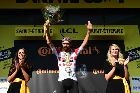 Photo credits: A.S.O./Alex BROADWAY Thomas De Gendt Lotto Soudal winner stage 8 2019 tour de france