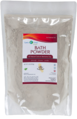 Sodium Bentonite Bath Powder - Resealable Pouch