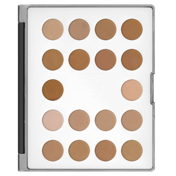 alt Kryolan HD Micro Foundation Cream Mini-Palette 18 Colors 1 (Mini-Palette)