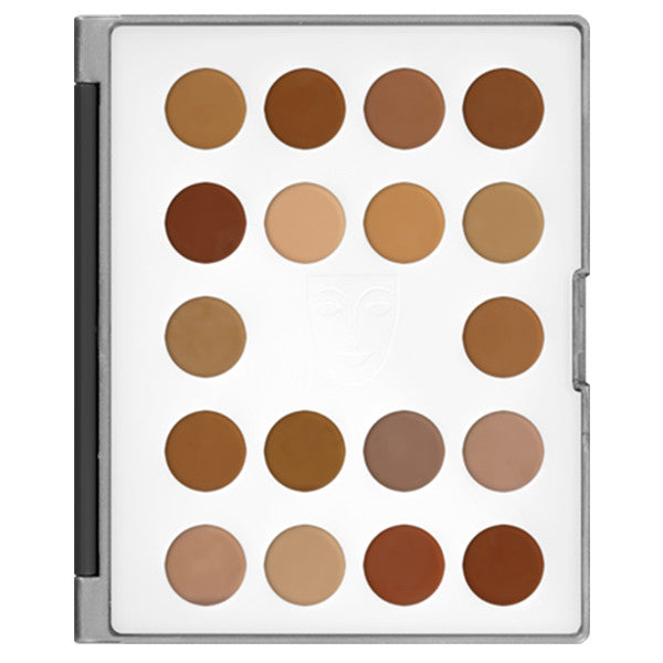 alt Kryolan HD Micro Foundation Cream Mini-Palette 18 Colors 2 (Mini-Palette)