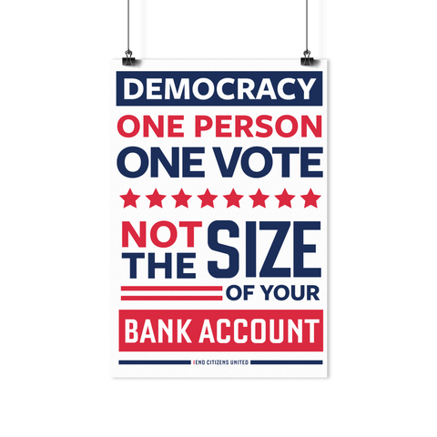 The Democracy Poster
