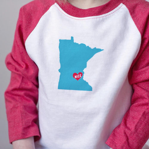 MN Nice Raglan Tee - Sweetpea and Co.